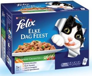 Felix - Elke dag feest - Groenten (12x100gr)
