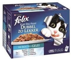 Felix - Dubbel zo lekker - Vis (12x100 gr)