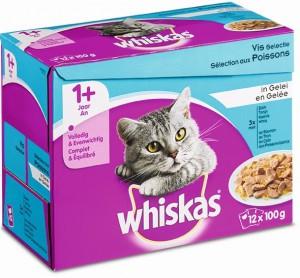 Productafbeelding voor 'Whiskas Adult - Vis (12x100gr)'