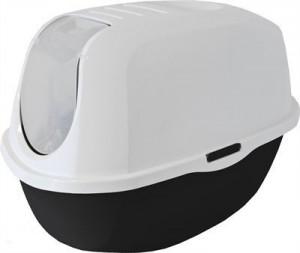 Kattenbak - Moderna - Zwart/wit