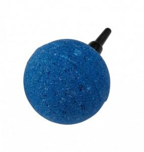 Uitstroomsteen bol blauw bal