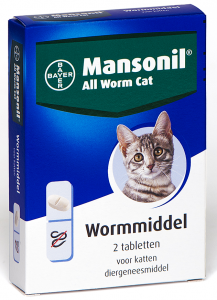 Productafbeelding voor 'Mansonil - All worm cat'