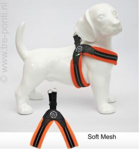 Tre Ponti - Mesh Fibbia Reflecterend (oranje)