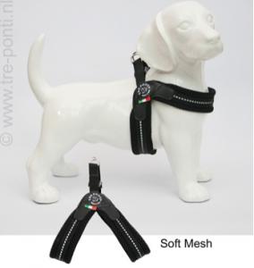 Tre Ponti - Mesh Fibbia Reflecterend (zwart)