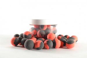Boilie Pop-Up naturel 15mm - 150ml Black/Red