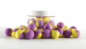 Boilie Pop-Up naturel 15mm - 150ml Purple/Yellow