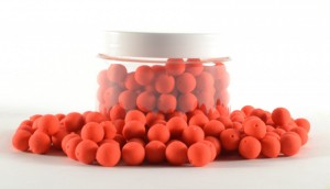 Mini Pre Drilled Boilies 100gr red - monstercrab