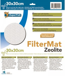 Superfish - Filtermat Zeoliet