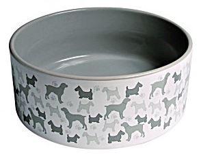 Productafbeelding voor 'Trixie - Keramische Voerbak Print Hond'
