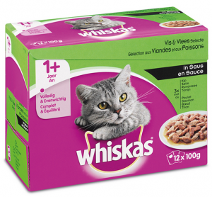 Whiskas Adult - Vis/Vlees