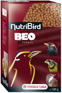 nutribird beo´s -vruchten en insekteneters