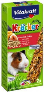 Vitakraft - Kracker Cavia - Fruit/Flakes