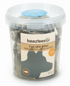 Image of Beeztees - Kabeljauwhuid Bites