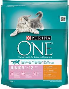 Productafbeelding voor 'Purina One - Junior Kip / Volkoren granen'