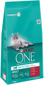Purina One - Adult Rund / Volkoren granen