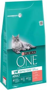 Productafbeelding voor 'Purina One - Adult Zalm / Volkoren granen'