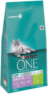 Purina One - Sensitive Kalkoen / Rijst