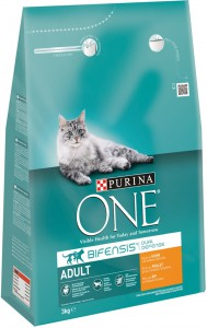 Productafbeelding voor 'Purina One - Adult Kip / Volkoren granen'