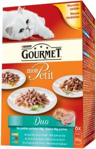 Gourmet - Mon Petit 6x50gr
