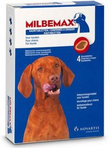Milbemax Kauwtabletten - Hond