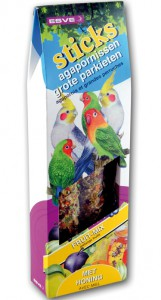 Esve - Vogelstick - Grote Parkiet (Fruit)
