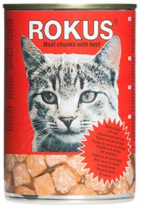Rokus kat - Rundblokjes