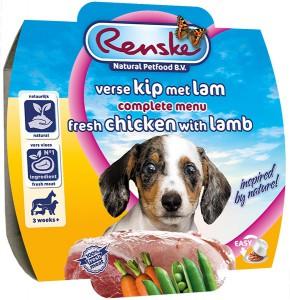 Renske - Hond - Kip & Lam (puppy)
