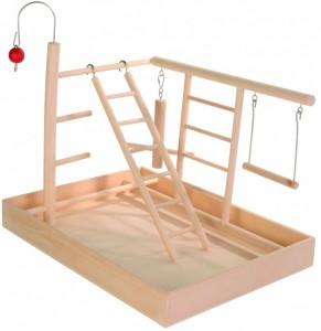 Productafbeelding voor 'Houten Speelgoedplaats 34x26x25'