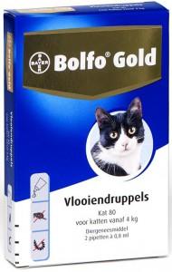 Productafbeelding voor 'Bolfo Gold - Kat (vanaf 4kg)'
