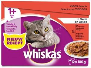 Whiskas Adult - Vlees (12x100gr)