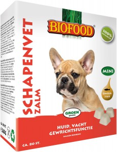 Biofood - Schapenvet Mini - Zalm