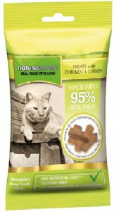 Natures Menu Cat Treats Chicken & Turkey 60gr