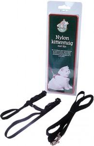 Nylon Kittentuig met lijn