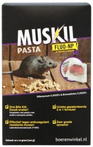 Muskil - Pasta Fluo-np Muis