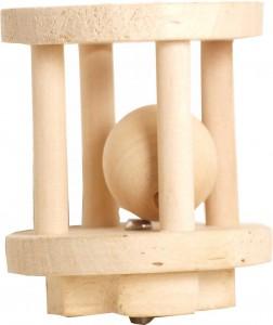 Houten Knaagdier Cilinder 11cm