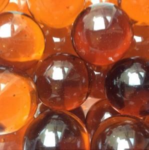 Glazen Decoratiestenen - Bruin