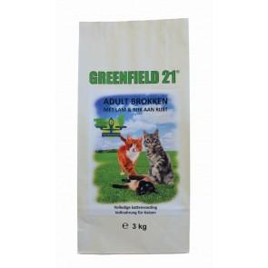 Greenfield Kat Adult Brokken met lam & rijst