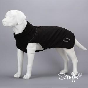 Afbeelding Scruffs - Thermal Dog Coat Zwart door DierenwinkelXL.nl