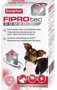 Fiprotec - Combo Hond 2-10 kg