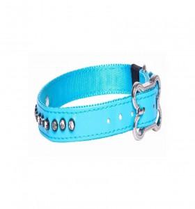Rogz for dogz Lapz Luna Halsband Blauw M 16mm