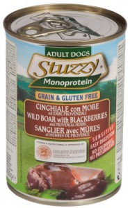 Stuzzy - Blik - Monoproteïne Everzwijn met Bramen & Provenciale kruiden
