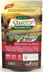 Stuzzy - Pouch - Monoproteïne Rundvlees met Bosbessen