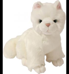 Pluche - Kitten Wit zittend