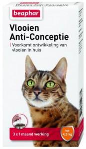 Beaphar - Vlooien Anti-Conceptie Kat