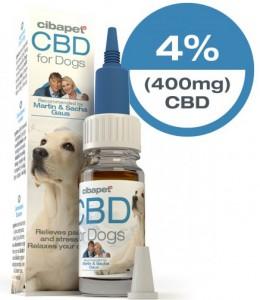 Cibapet - CBD Olie 4% voor honden