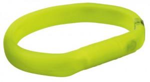 Trixie - Lichtgevende Halsband met USB - Groen