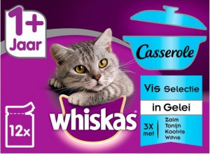 Whiskas Casserole Adult Vis Selection