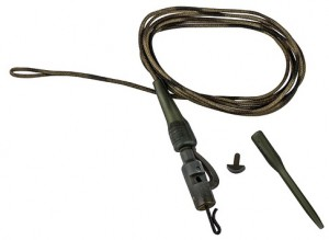 Productafbeelding voor 'Prologic - Readymade Safety Clip QC Swivel Metal Leader'