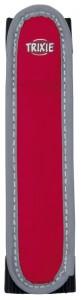 Trixie - Flash Lichtgevende band voor halsband Rood/Zwart