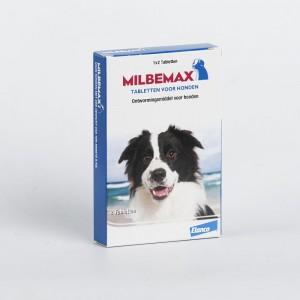 Afbeelding Milbemax Grote hond 2 Tabletten door DierenwinkelXL.nl